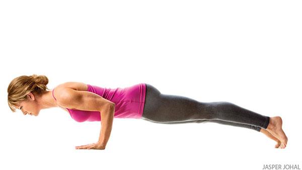Tư thế Yoga chống đẩy
