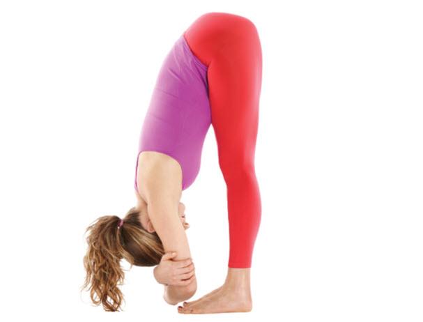 Tư thế Yoga gập người trước