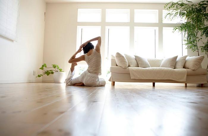 Cố gắng giữ thói quen luyện tập yoga thường xuyên