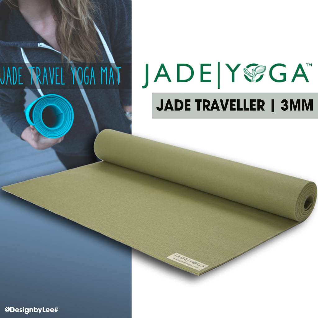 Thảm Yoga du lịch Jade Traveller - 3mm