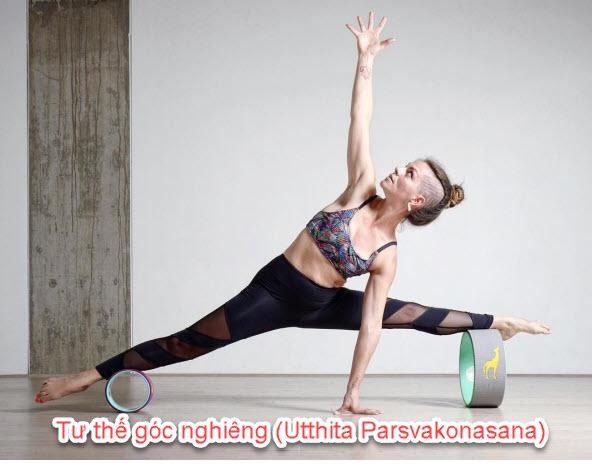 Tư thế góc nghiêng (Utthita Parsvakonasana)